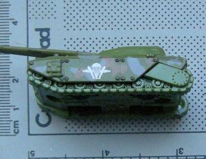 Majorette, tank, macheta