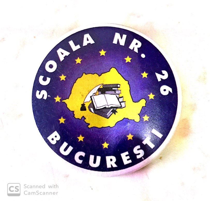 button Romania - Bucuresti Logo